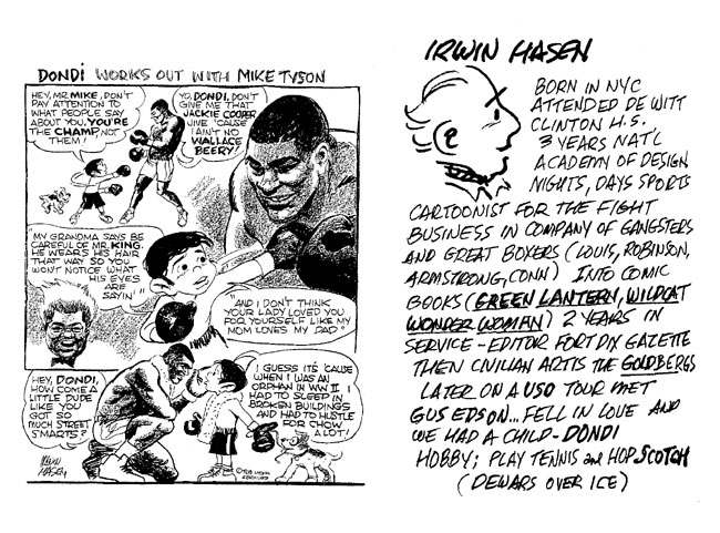 mike lynch cartoons golden age of comics panel discussion irwin