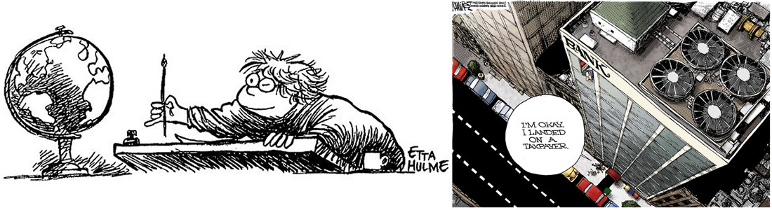 Etta Hulme became the first female cartoonist to win in the Editorial division with her win in 1981. The Fort Worth Star-Telegram staffer recorded her second win in the category in 1998. Michael Ramirez has won the Editorial Cartoon Award three times since 2006.